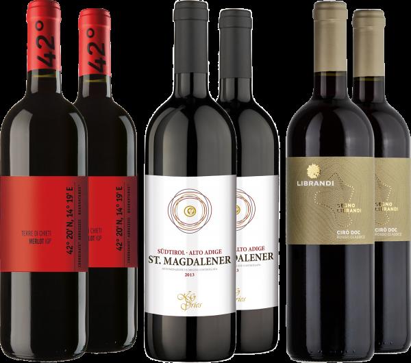Sommer Rotweinpaket