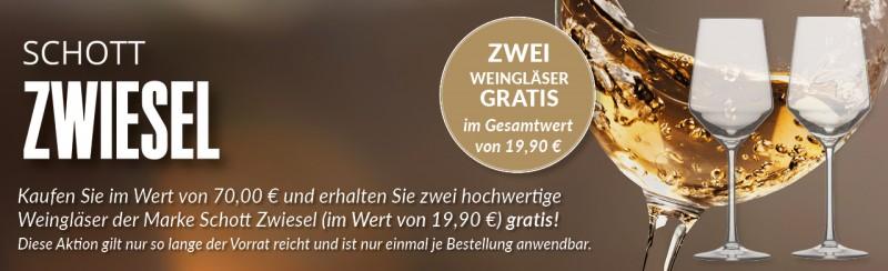 Hochwertige Glasaktion von Vinolisa.de