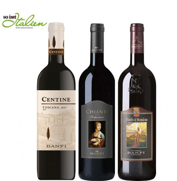 So is(s)t Italien Castello Banfi-Paket