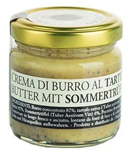 Urbani Tartufi Pasteurisierte Sommer-Trüffel-Butter - Crema di Burro al Tarufo 70g im Glas