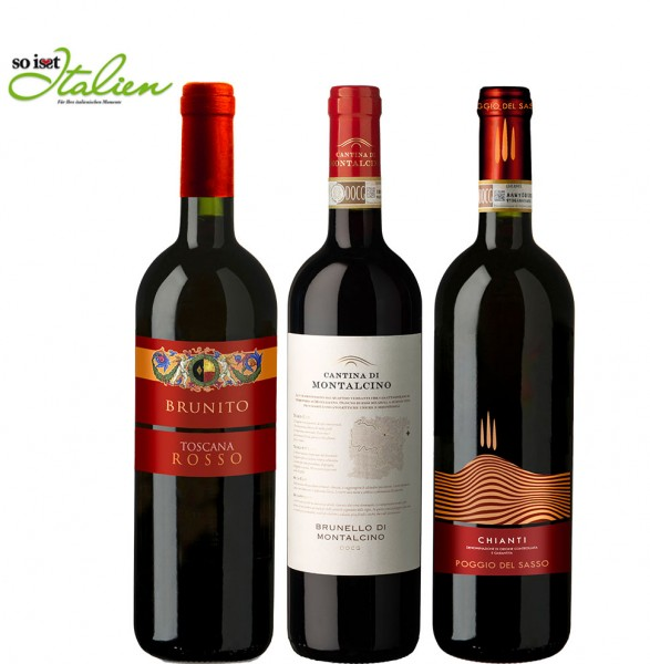 So is(s)t Italien Cantina di Montalcino Weinpaket