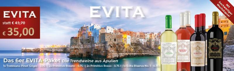 EVITA Weinpaket