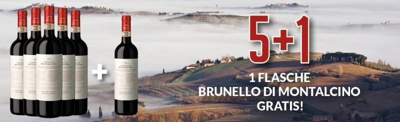 Brunello 5+1 Aktion
