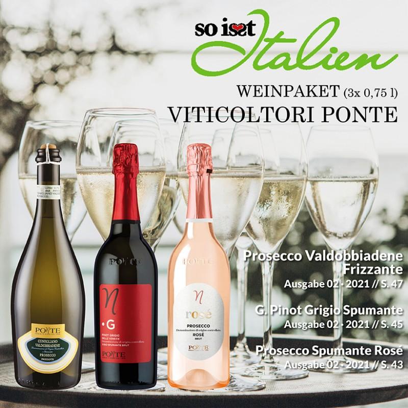 So is(s)t Italien Viticoltori Ponte Weinpaket