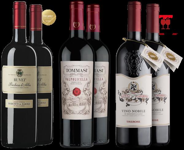 Herbst-Zeitlose Weinpaket mit Herbstweinen