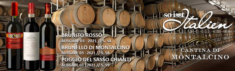 So is(s)t Italien Cantina di Montalcino Paket
