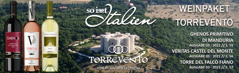 So is(s)t Italien Torrevento Paket