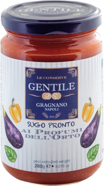 Pastificio Gentile Tomatensauce mit Gartengemüse - Sugo Pronto Ai Profumi Dell'Orto 280g