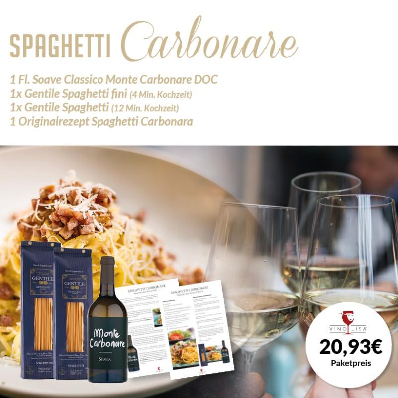 Spaghetti Carbonare Paket
