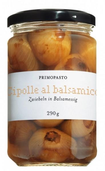 Cipolle Borettane all' aceto balsamico - Zwiebeln in Balsamessig