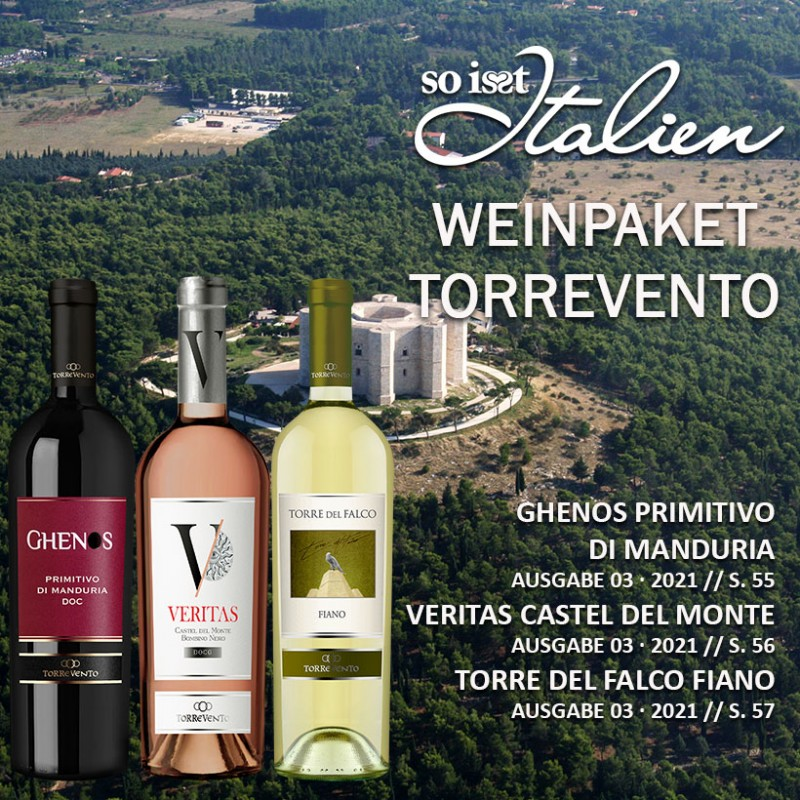 So is(s)t Italien Torrevento Weinpaket