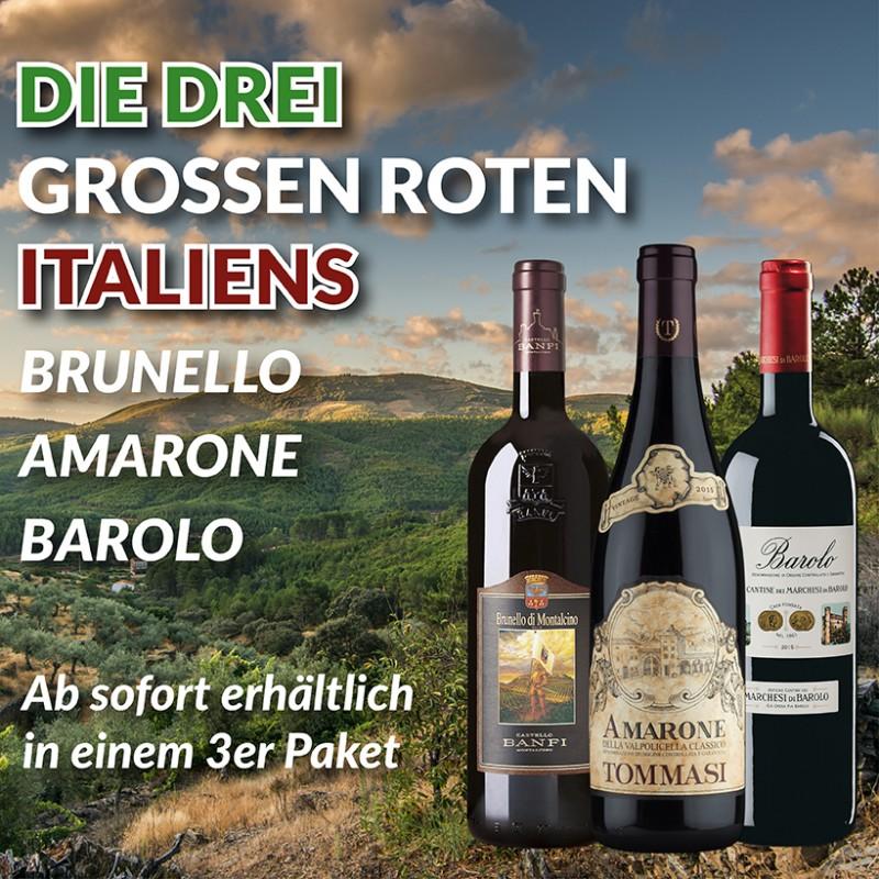 Die 3 großen Roten Italiens