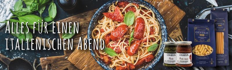Feinkost - alles für einen italienischen Abend!