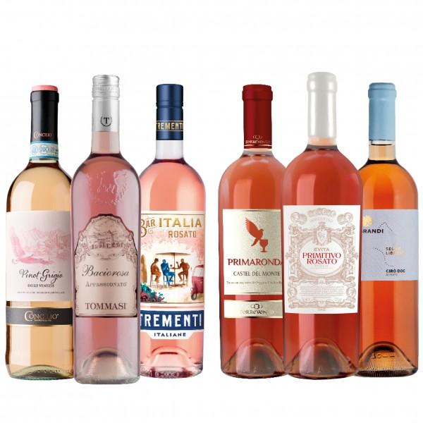 Rosato-Paket - der Frühling ist Rosé!