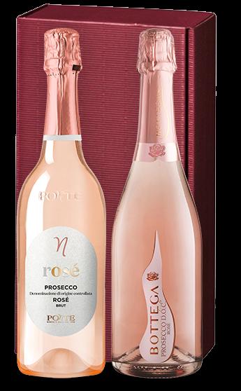 """Präsent """"Amore Rosé"""" - Weine in hochwertiger Geschenkverpackung"""