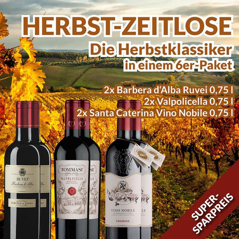 Herbst Weinpaket