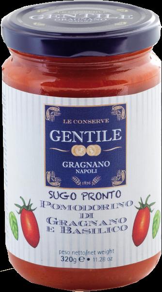 Pastificio Gentile Tomatensauce mit Basilikum - Pomodorino di Gragnano e Basilico 320g